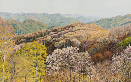 Smoky Mountains in Early Spring, II  |  Richard G. Tiberius